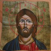 Jesus-Ikonen-Tuch