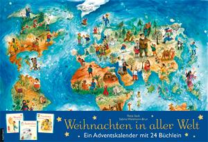 weihnachten in aller welt wandkalender evangelisations zentrum salzburg. Black Bedroom Furniture Sets. Home Design Ideas