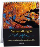 Schaffer Postkartenkalender 2016