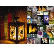 Fensterbild/Folien-Adventskalender